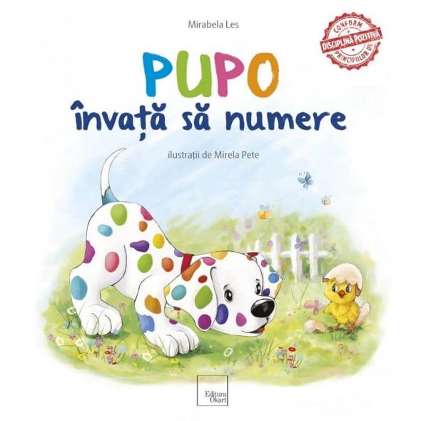 Carte de povesti Pupo invata sa numere