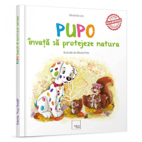 Carte de povesti Pupo invata sa protejeze natura