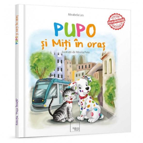 Carte de povesti Pupo si Miti in oras