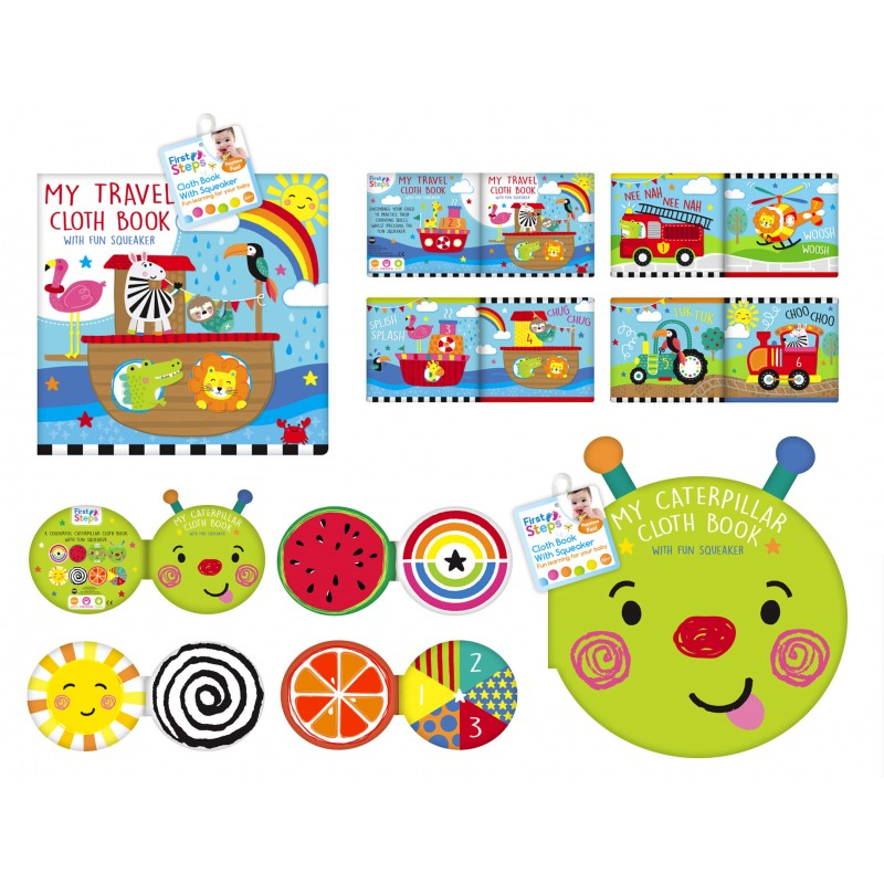 Carticica din material textil krbaby.ro