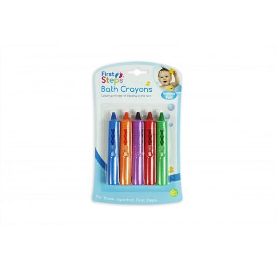 First Steps - Creioane colorate pentru baie si gresie