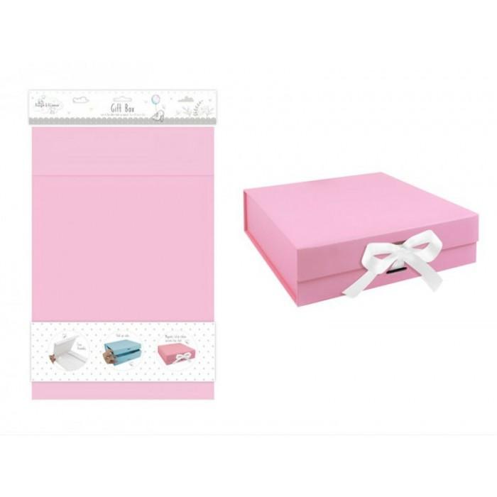 Hugs and Kisses - Cutie cadou roz