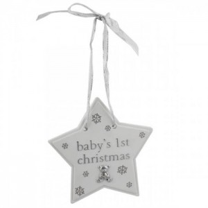 Bambino by Juliana - Steluta pentru brad Baby's First Christmas
