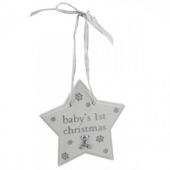 Bambino by Juliana - Steluta pentru brad Baby's First Christmas