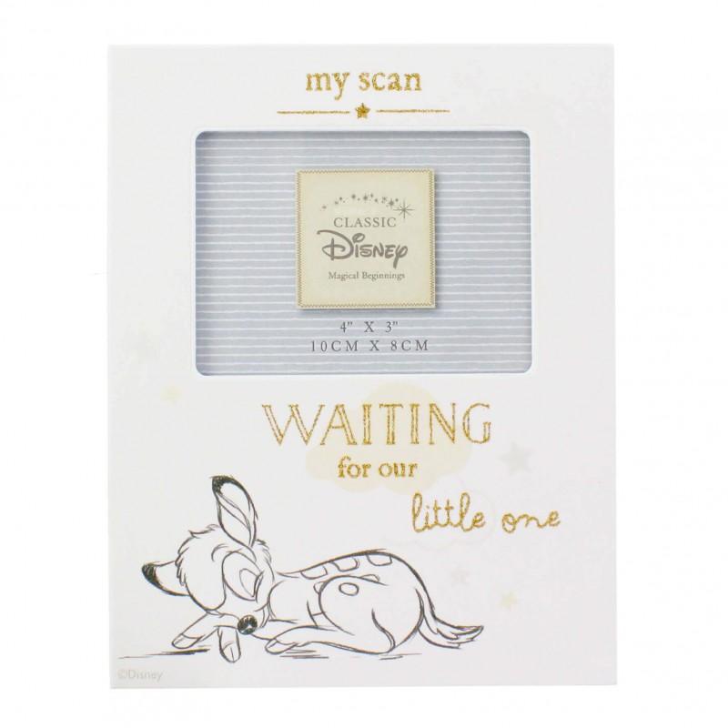 Disney Magical Beginnings - Rama foto pentru ecografie Bambi krbaby.ro