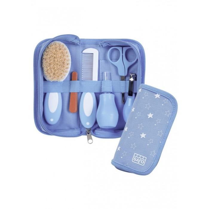 Trusa pentru Igiena Bebelusului Bleu Saro Baby