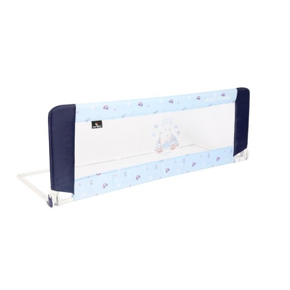 Bariera protectie pat Night Guard Lorelli Blue Bear