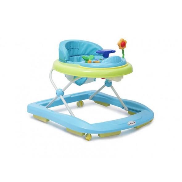 Moni - Premergator copii Baby Walker Infinity albastru