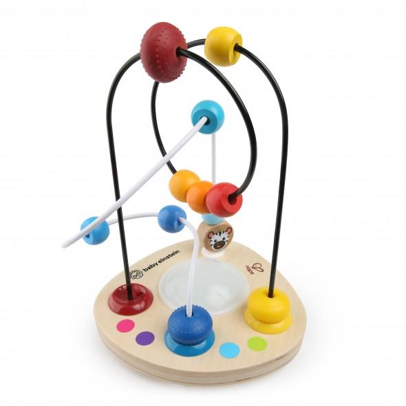 Jucarie cu bile din lemn Baby Einstein Hape Color Mixer