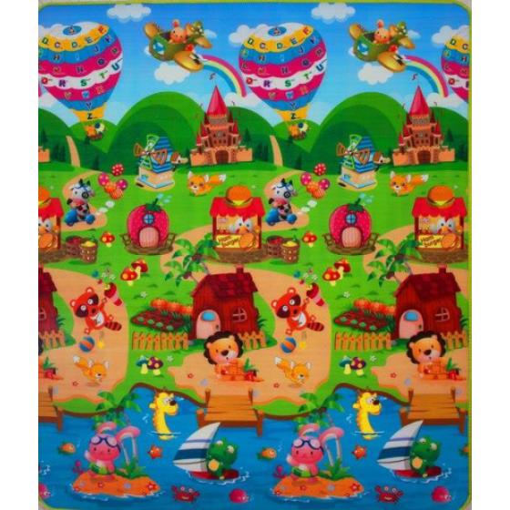 Covoras de joaca Tigru/Lumea Povestilor 180x150x1cm
