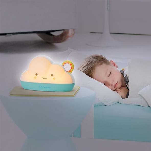 Lampa de veghe multifunctionala cu melodii si alarma Dream & Shine Skip Hop