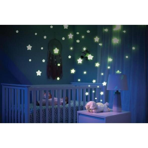 Summer Infant - Lampa sunete si proiectii mieluselul Luna