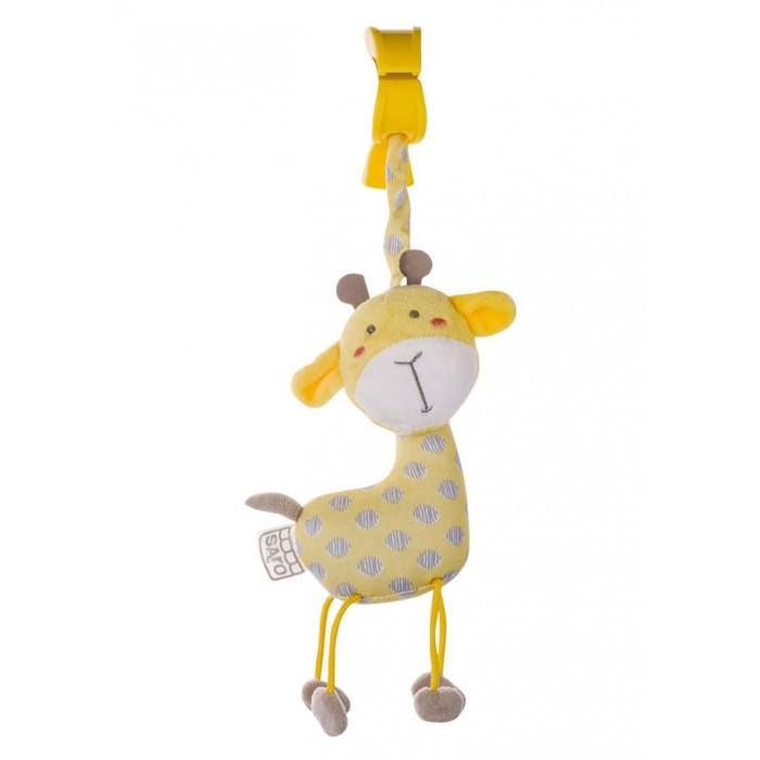 Jucarie de Agatat Jungle Party Girafa Saro Baby