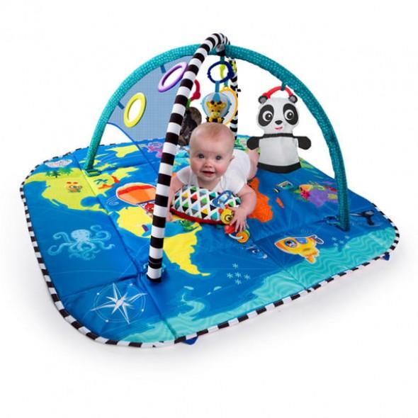 Baby Einstein – Salteluta de activitati 5 in 1 World of Discovery krbaby.ro