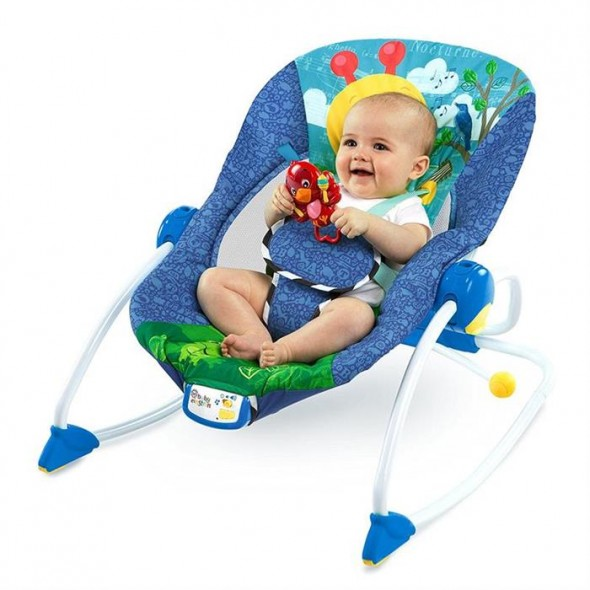 Baby Einstein - Balansoar cu muzica si vibratii 2 in 1 Symphony Rocker