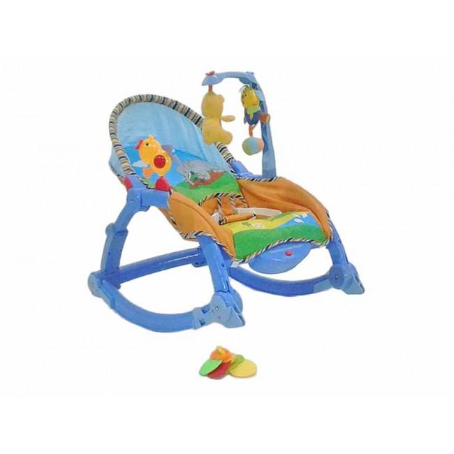 Moni Rocker - Balansoar copii 2 in 1 albastru