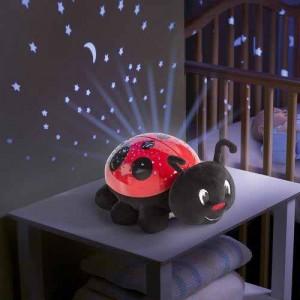 Summer Infant - Lampa cu sunete si proiectii Buburuza