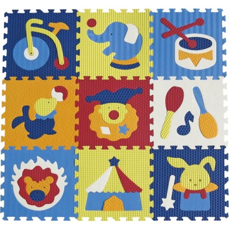 Babygreat - Covoras Puzzle Circul Minunat krbaby.ro