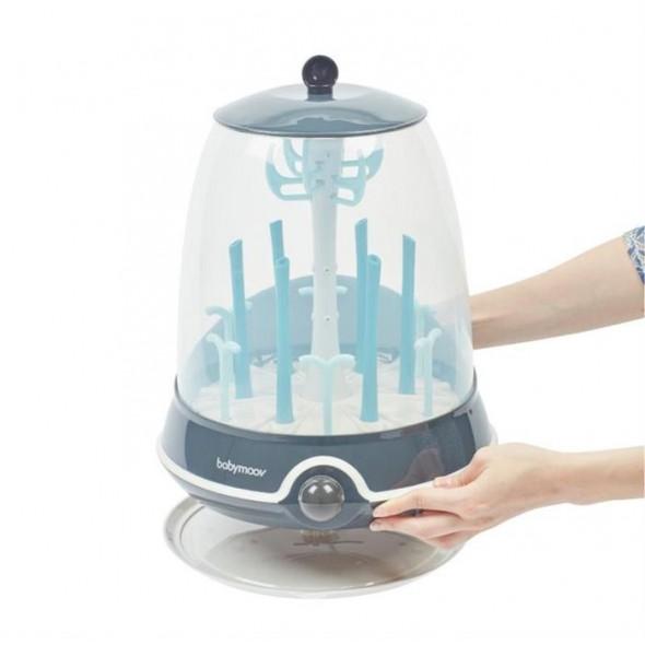 Sterilizator electric si uscator de biberoane 2 in 1 Turbo Babymoov krbaby.ro