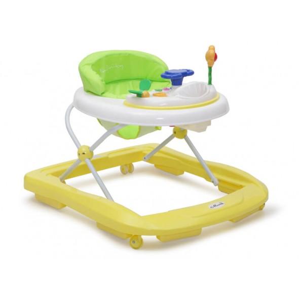Moni - Premergator copii Baby Walker Infinity galben