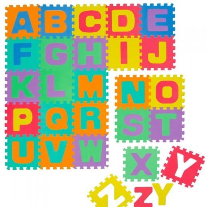 Covoras Puzzle Alfabet 26 piese Knorrtoys