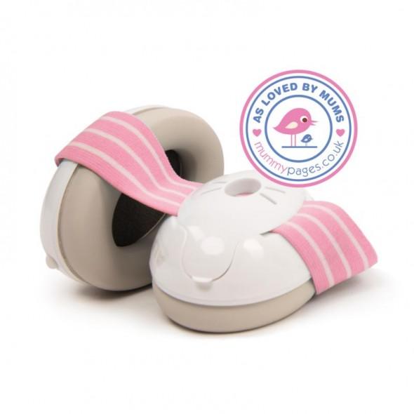 Alpine Muffy Baby- Casti antifonice pentru bebelusi Pink