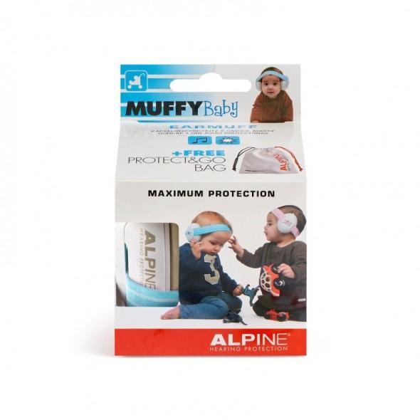 Alpine Muffy Baby- Casti antifonice pentru bebelusi Blue