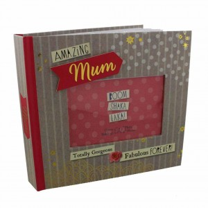 "Album foto cu coperta personalizabila ""Amazing Mum"""