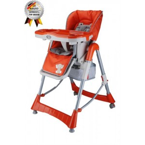 BabyGo - Scaun de masa Tower Maxi Orange
