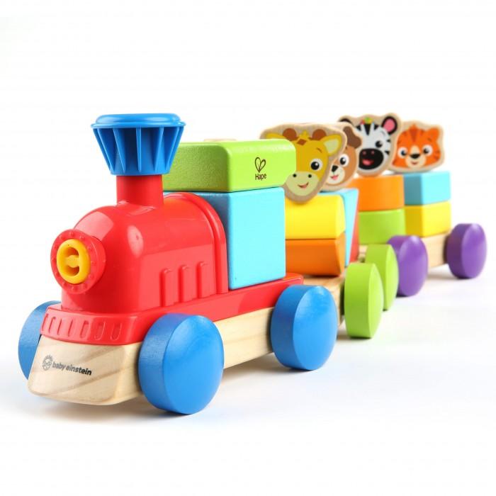 Jucarie de lemn Baby Einstein Hape Discovery Train