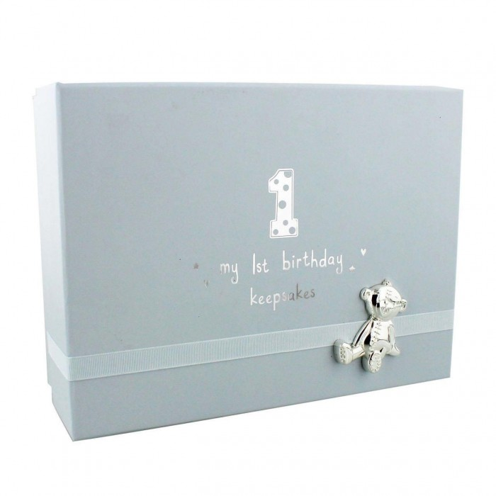 Button Corner - Cutie amintiri My 1st Birthday - blue