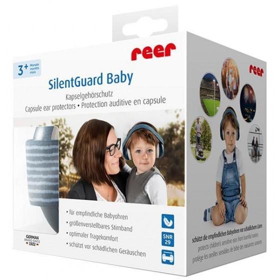 Reer - Casti antifonice pentru bebelusi SilentGuard Baby Boy