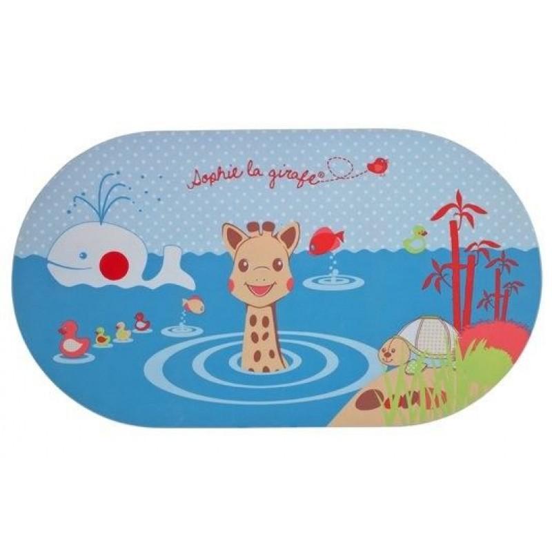 Covoras pentru cada cu indicator de temperatura Girafa Sophie krbaby.ro