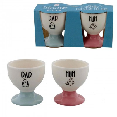 Eggcellent - Set suport pentru ou mum and dad