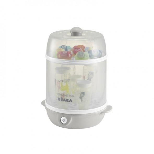 Sterilizator electric 2 in 1 Beaba gri krbaby.ro