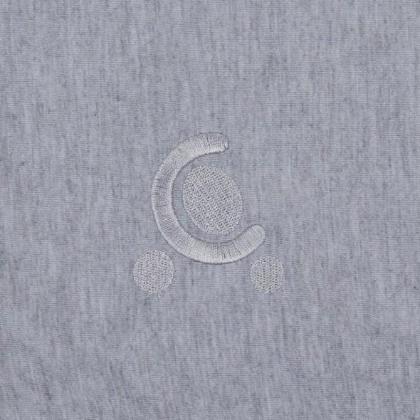 Paturica reversibila din tricot/fleece Comfi Love Grey