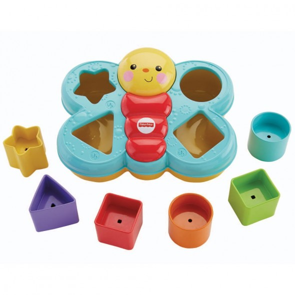 Jucarie cu sortator Fisher Price by Mattel Infant Fluturas
