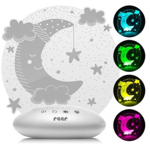 Lampa de veghe ColorLumy Moon Reer
