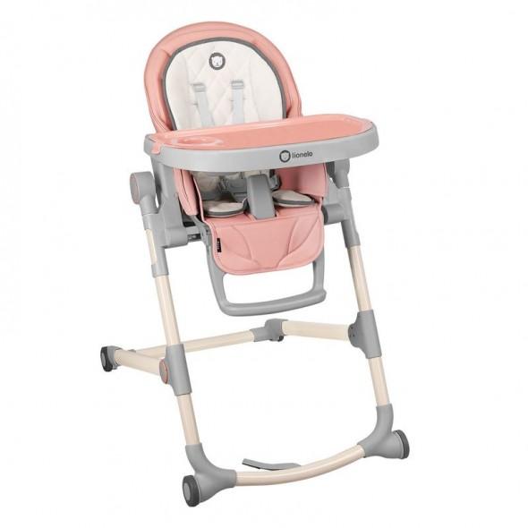 Scaun de masa pliabil pentru bebelusi Lionelo Cora Bubblegum