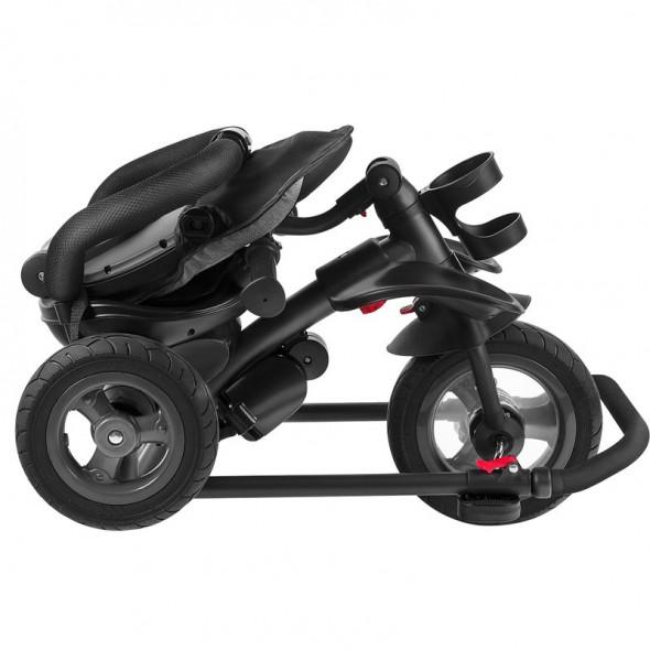 Tricicleta multifunctionala pliabila cu sezut reversibil Tris Jeans Lionelo krbaby.ro