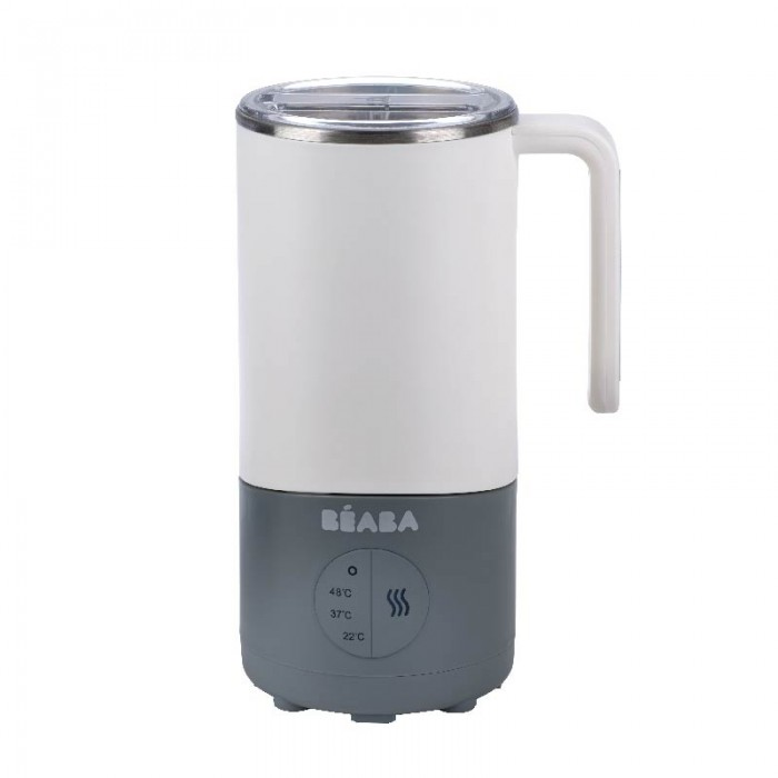 Preparator lapte MilkPrep white and grey Beaba