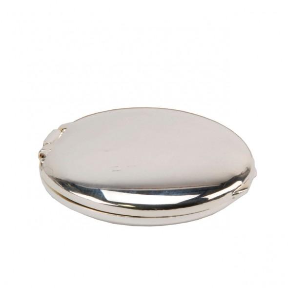 Oglinda argintata rotunda