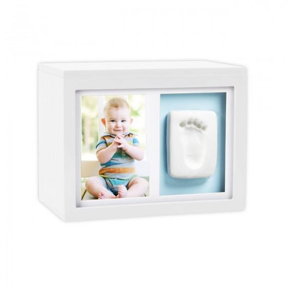 Pearhead - Cutie alba pentru amintiri cu rama foto si mulaj