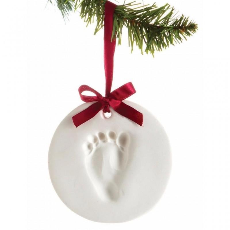 Pearhead - Kit amprenta mulaj manuta sau piciorus pentru ornament bradut krbaby.ro