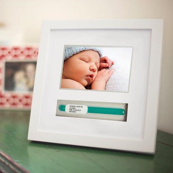 Pearhead - Rama foto pentru bratara din maternitate a bebelusului krbaby.ro