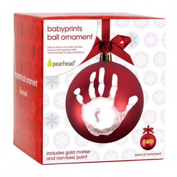 Pearhead - Glob de Craciun cu amprenta bebe krbaby.ro