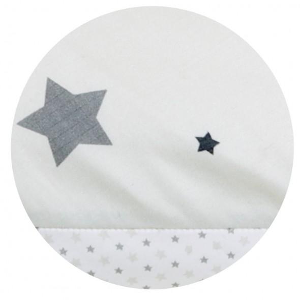 Perna pentru gravide si alaptare Grey Stars krbaby.ro