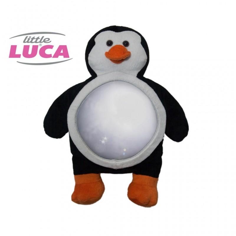 Oglinda auto supraveghere copii pinguin Little Luca