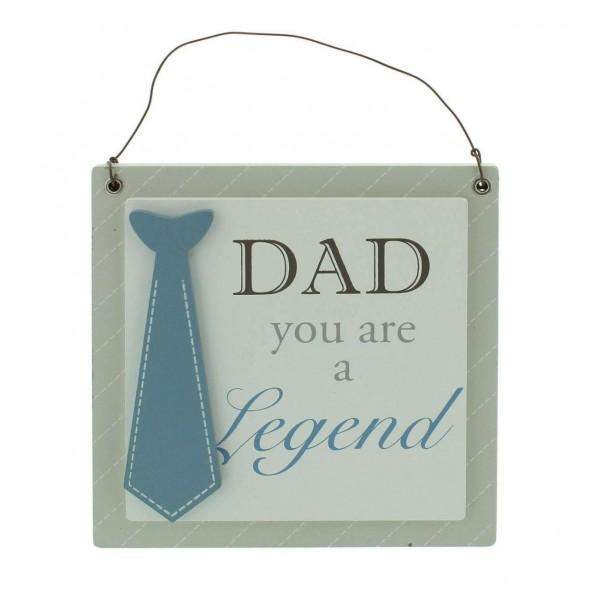 Placuta decorativa Dad you are a legend