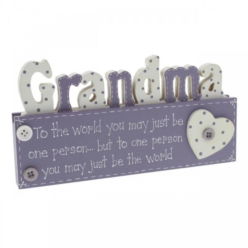 Placuta decorativa pentru bunica krbaby.ro